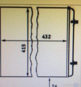 Радиатор двигателя Vw golf/bora 1.4
