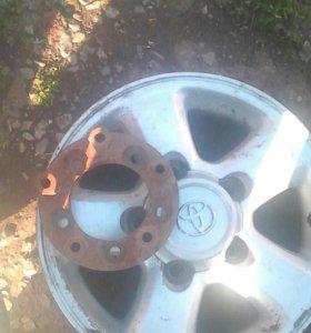 Кованные диски R 16 на land cruser , Нива