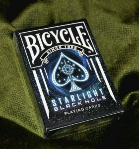 Карты Bicycle Starlight Black Hole