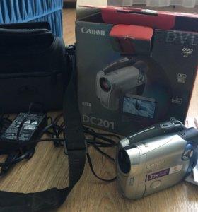 camera video canon dc201
