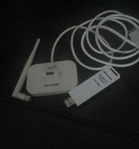 Беспроводной USB-адаптер повышенной мощности