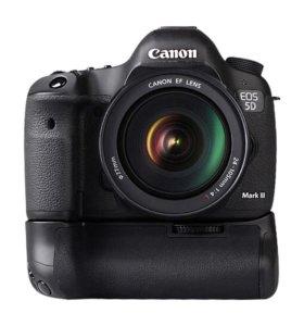Батарейный блок для Canon 5D Mark3 BG-E11 оригинал