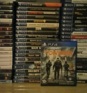 Диск Playstation 4 Division ps4 игра
