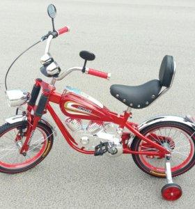 НОВЫЙ велосипед R16 Мотобайк Винтаж