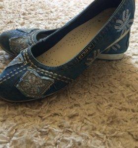 Балетки типо ботиночек