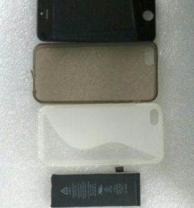 Дисплей, Аккумулятор, Чехлы для iphone 5s