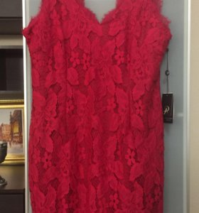 Платье Adrianna Papell кружево новое