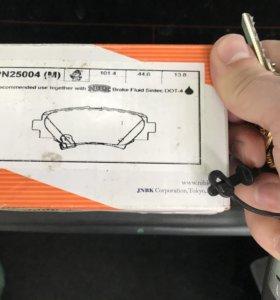 Колодки тормозные задние Mazda 3 BM