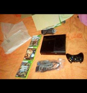 Xbox 360 с 3 играми