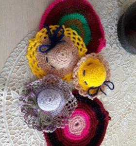 Шляпки игольницы