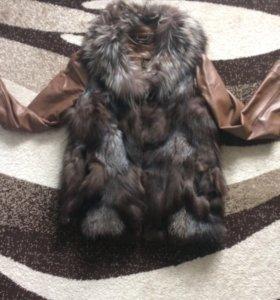 Куртка+жилетка(нат)