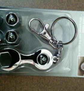Колпачки на ниппель с логотипом рено
