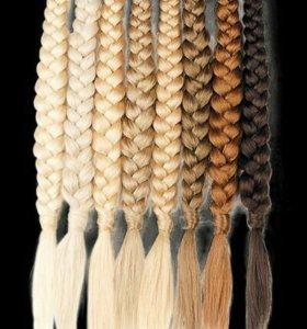 Коса из натуральных волос angelo hair