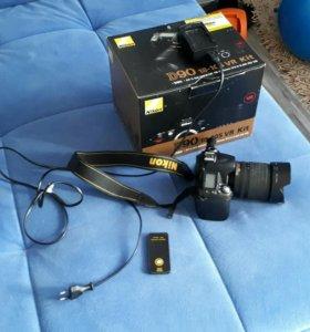Nikon d90 + nikkor 18-105