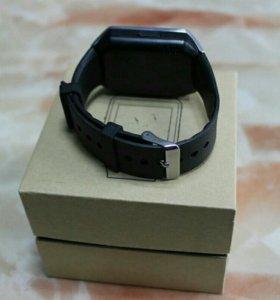 Умные часы smart watch DZ09 черные