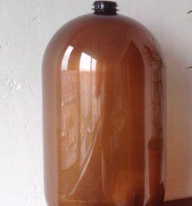 Бутыль из пищевого пластика 30 литров (б/у кега)