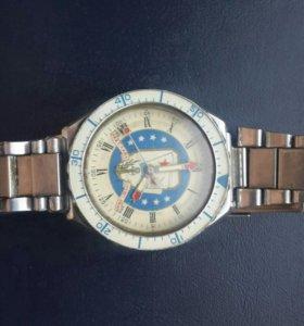 Часы ВМФ Слава- USN BELKNAP. Кварц. 2-й мчз.