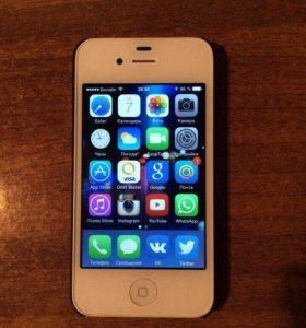 Айфон 4s 16gb белый