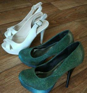 Босоножки, туфли, торг, цена за обе пары