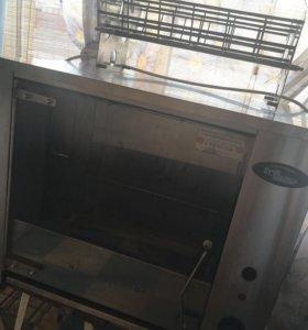 Печь-гриль для приготовления куры-гриль