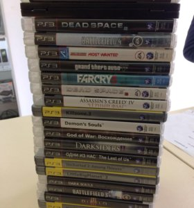Диски Sony PS3