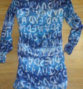 Платье, юбка, пляжный сарафан