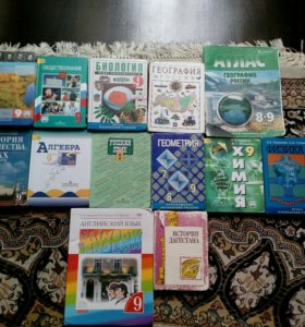 Весь комплект книг 9 класса