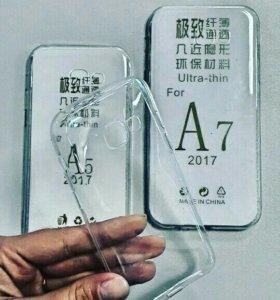 Силиконовые чехлы для Samsung