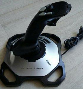 Джойстик Logitech Extreme 3D Pro Joystick.