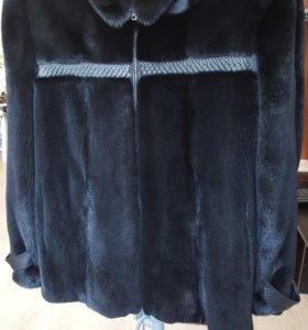 норковая куртка мужская.