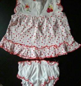 Платье+трусики