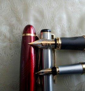2 Ручки перьевые металлические
