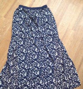 Женская юбка в пол