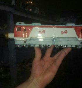 Бутылка сувенир локомотив