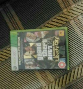 Диск к Xbox 360 гта 4 либерти сити
