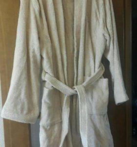 Банный халат мужской новый махровый
