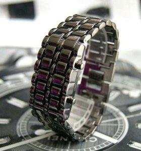 Новые часы браслет Lava watch