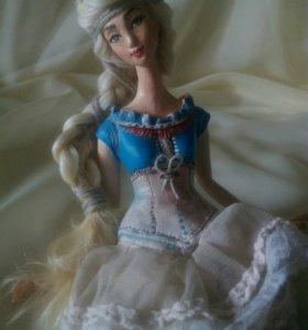 Коллекционная интерьерная кукла