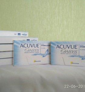 Линзы ACUVUE Oasys 6 линз
