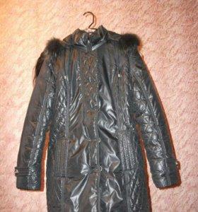 Куртка зима,мало б\у,44-46р.