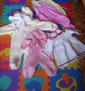 Детские вещи пакетом от 4 месяцев