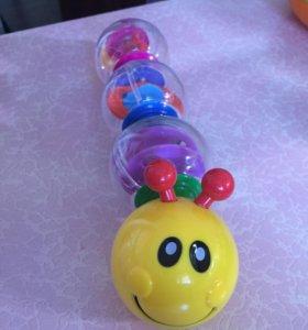 Игрушка Веселая гусеница Baoli