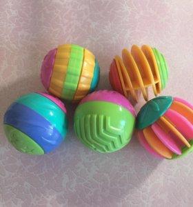 Набор сенсорных шариков Playskool Hasbro