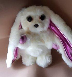 Заяц розовые уши