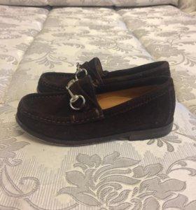 Туфли для мальчика фирма GUCCI
