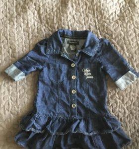 Платье джинсовое для девочки Calvin Klein