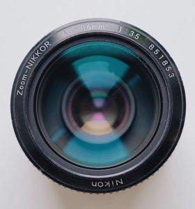 Nikon nikkor 43-86 3.5 fuji sony canon