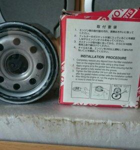 Фильтр масляный. Toyota Карола 2002 г