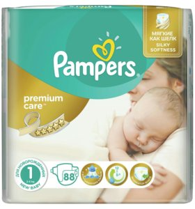 Подгузник Pampers Premium (2-5)(3-6) 88шт