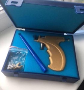 Пистолет для прокола+19 пар серёжек